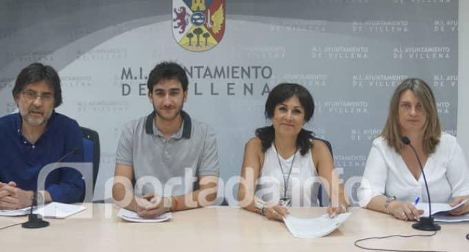 Villena contratará a once jóvenes durante siete meses con una subvención de 104.963 euros
