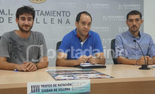 450 nadadores se darán cita en el XXVII Torneo de Natación Ciudad de Villena