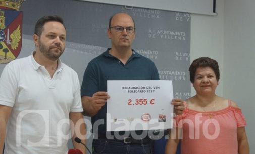 El VEM recaudó 2.355 euros para la ONG «Proactiva Open Arms»