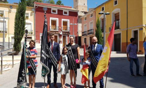 Los Cristianos de Villena bendicen sus nuevas banderas