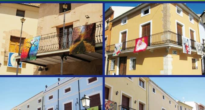 Art al balcó en Biar