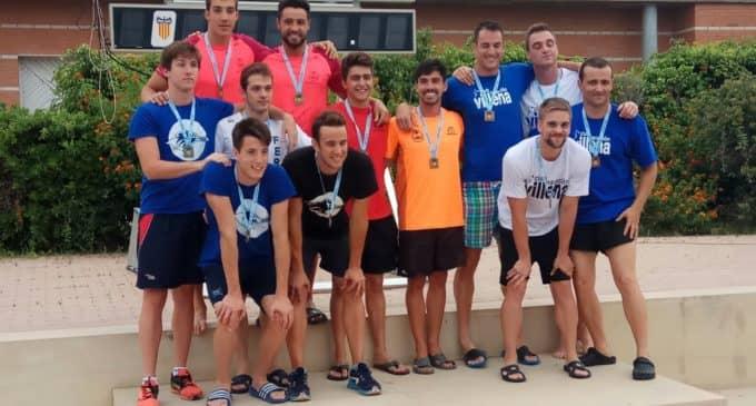 Dos medallas de Oro y dos de Bronce para el Club Natación Villena en el Campeonato Autonómico Junior y Absoluto