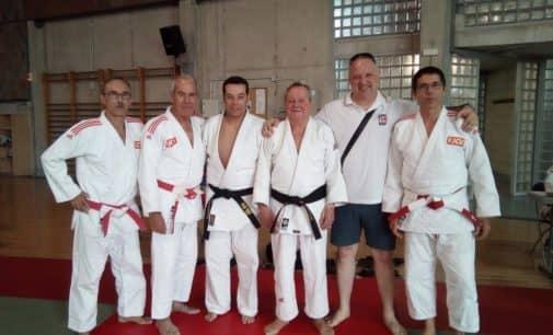 Herminio Bañón, Cinturón Negro Primer Dan en judo