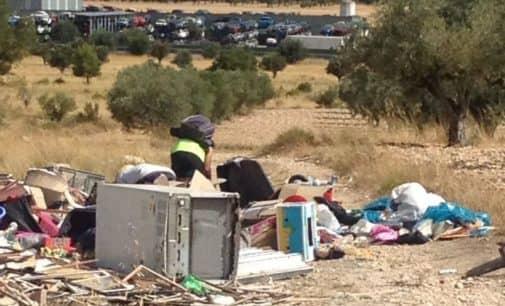 Vertedero Ilegal de La Solana, un problema que crece