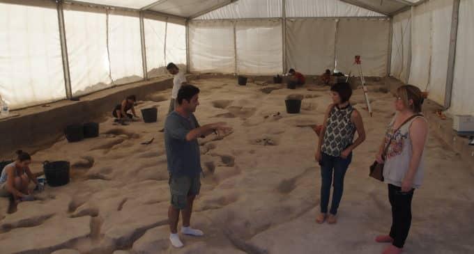Hallan restos de campamentos residenciales de hace 9.000 años durante el Mesolítico en Villena