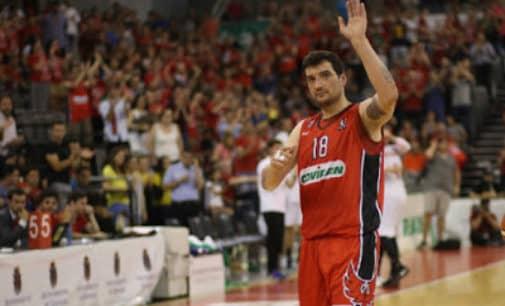 Reconocimiento al jugador de baloncesto villenense, Jesús Fernández