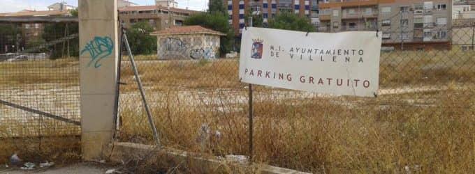 El PP denuncia el abandono del aparcamiento municipal en los terrenos de ADIF