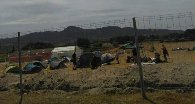 Leyendas del Rock acampa en Villena