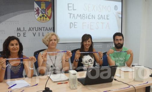 Villena inicia una campaña de concienciación contra las agresiones sexistas en los festejos