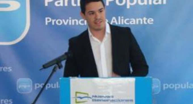 Miguel Ángel Salguero, nuevo secretario general del PP de Villena