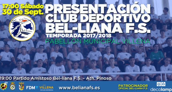 Presentación del Bel-liana Fútbol Sala
