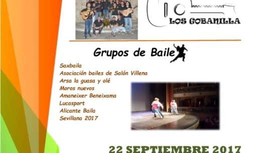 Los Gobanilla y varios grupos de baile participan en la gala a beneficio de AFAD en el Chapí