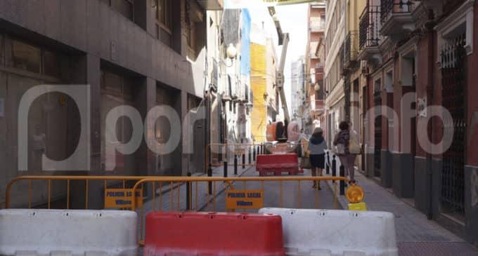 La calle Cristóbal Amorós estará cortada al tráfico hasta el 4 de septiembre