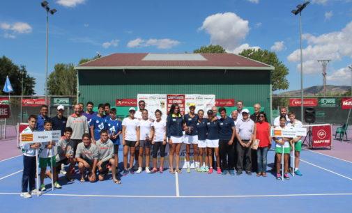 Murcia y C.Valenciana, campeones de España Infantil  de tenis por Comunidades Autónomas