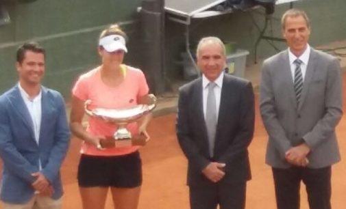 Tita Torró gana el campeonato de Tenis de Cataluña