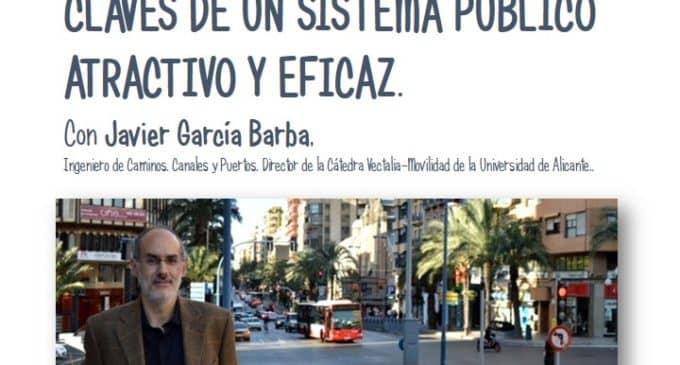 Hoy viernes charla sobre movilidad urbana sostenible