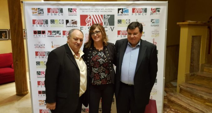 La Sociedad Musical Ruperto Chapí participa en la 49 asamblea de la F.S.M.C.V