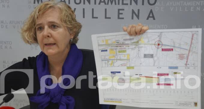 Villena propone soterrar las vías del tren desde la calle La Virgen hasta el puente San Benito