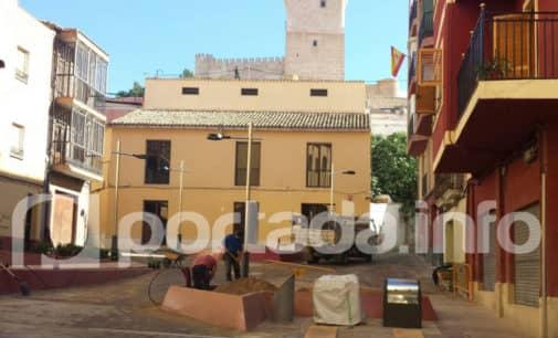 Finalizan las obras de adecuación de la plaza Pascual Domenech