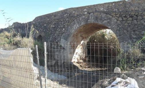 Reanudan las obras de rehabilitación del Puente de los Espejos
