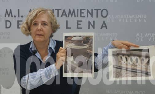 Villena invertirá 76.718 euros en consolidar la balaustrada del Teatro Chapí