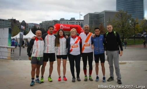 El Club Villena Orientación en el Bilbao City Race
