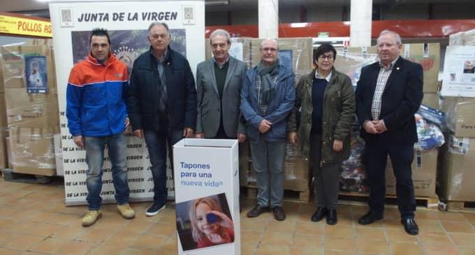 Villena se vuelve a superar en la recogida solidaria de tapones