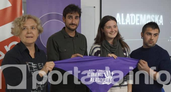 El grupo Alademoska contra la violencia de género