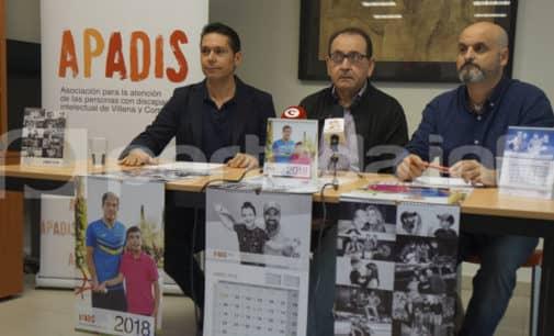 16 artistas participan en el calendario de APADIS 2018