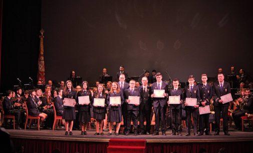 La Banda Municipal de Música celebra Santa  Cecilia