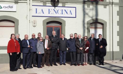 Reunión por el Corredor Mediterráneo en la Colonia de Santa Eulalia