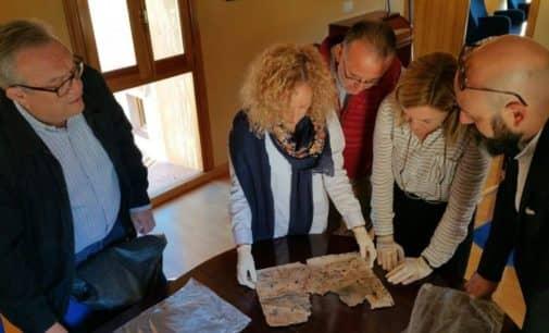 Nuevo hallazgo en Biar durante las obras de la torre medieval