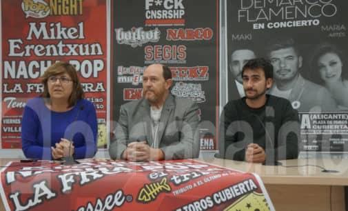 Mikel Erentxun y Nacha Pop participarán en la segunda edición de Villena Pop Night