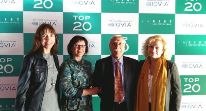 Cardiología, Nefrología y Urología del Hospital de Elda, premios Top 20 de 2017