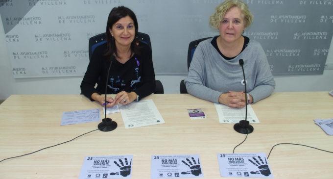 Villena organiza dos concentraciones ruidosas contra la violencia de género