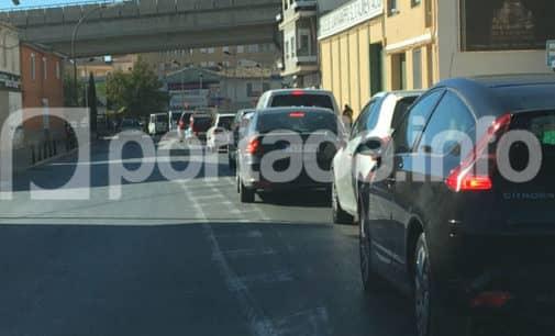Retenciones de tráfico en La Losilla