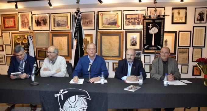 """Vicente Prats García presenta el libro """"La festividad del patrón de la Banca en Villena, San Carlos Borromeo"""""""