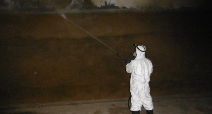 Finalizado el Plan Anual de Limpieza y Desinfección de los Depósitos de Villena