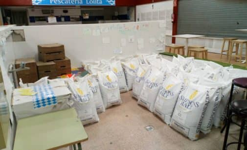 La asociación de cerveceros caseros de Alicante reparte  1 tonelada de malta en Villena