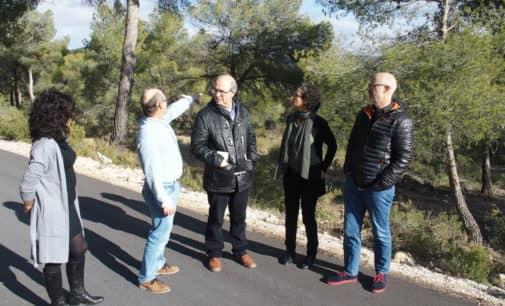 Medio Ambiente invierte 221.000 euros los accesos a Sierra Salinas en Villena