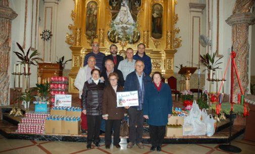 La Junta de la Virgen colabora con Cáritas