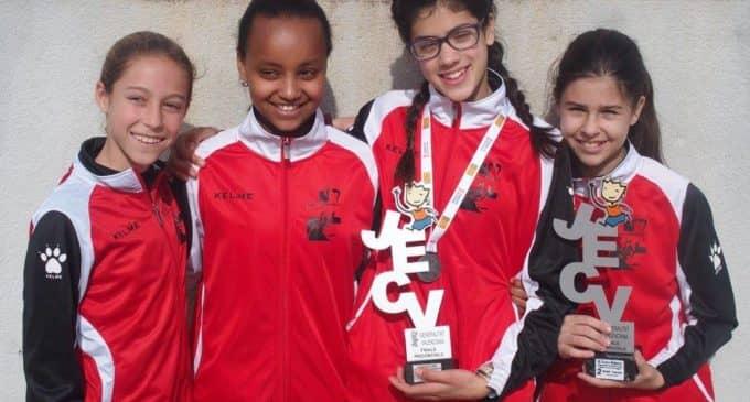 El equipo infantil femenino del Atletismo Promesas se proclama subcampeón Provincial de Cross