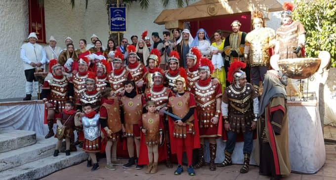 Gran representación del autosacramental de la Agrupación de Navidad y Reyes de las Virtudes
