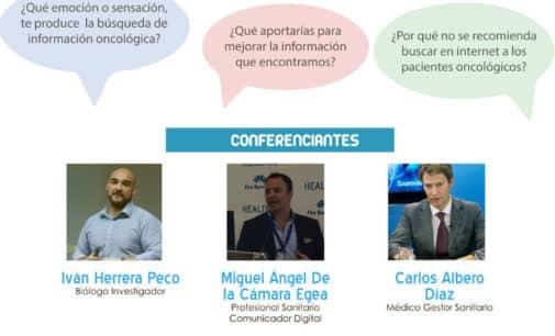 I Jornada Eficiencia de Recursos Informativos digitales para Pacientes de Oncología