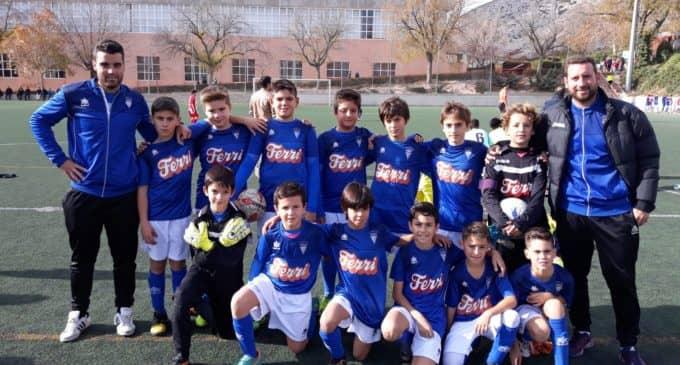 Buen fin de semana para los equipos Benjamín y  Alevín del Villena CF