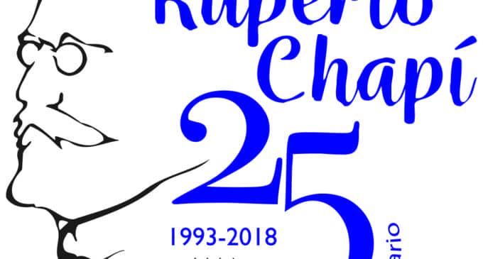 La Sociedad Musical Ruperto Chapí, presenta su logotipo del 25 aniversario