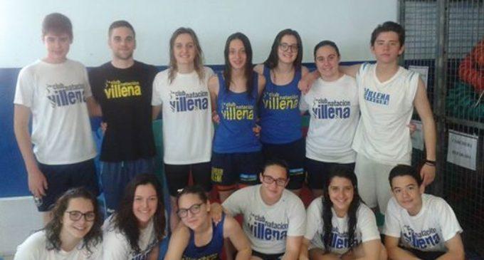 El Club Natación Villena en el control provincial en categorías Infantil y Mayores