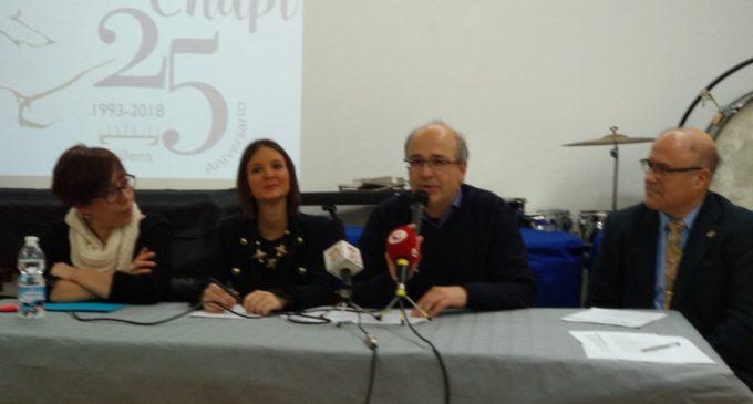 Primer acto conmemorativo del 25 aniversario de la Sociedad Musical Ruperto Chapí