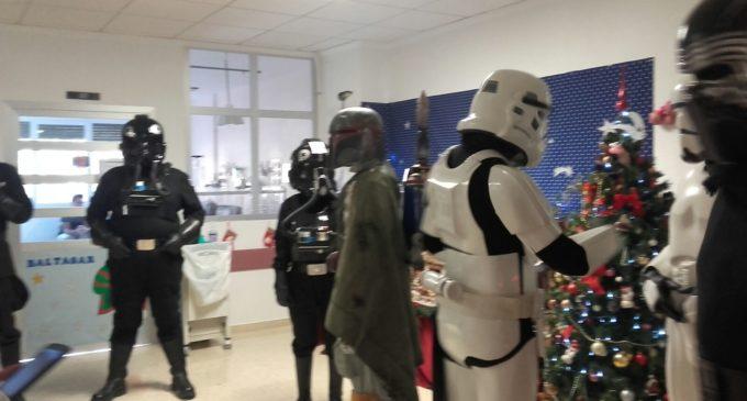 La Legión 501 visita el Hospital de Elda