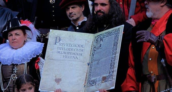 El Salicornio celebra el Título de Ciudad de Villena con la recreación del asedio que sufrió en 1707